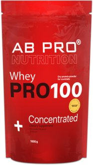 Протеин AB PRO PRO 100 Whey Concentrated 1000 г Strawberry (PRO1000ABST39)