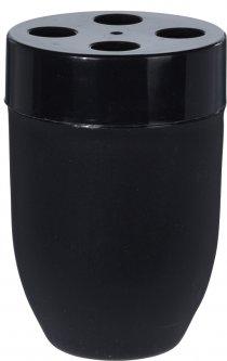 Стакан для ванной Bathroom solutions 7.5х11.5 см Черный (314418690_black)