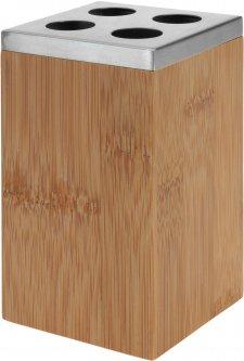 Стакан для ванной Bathroom solutions 6.5х12.6 см Коричневый (784300010)