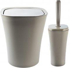 Набор аксессуаров для ванной комнаты PLANET Papillon 2 предмета латте