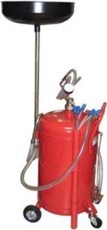Установка для слива и вакуумной откачки масла G.I.KRAFT 80 л (B80VS)