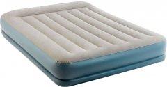 Надувная кровать Intex Mid-Rice Airbed 152 х 203 х 30 см Серая (64118)