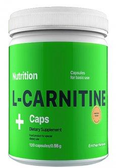 Жиросжигатель EntherMeal L-Carnitine в капсулах 120 капсул (CARN120EM0057)