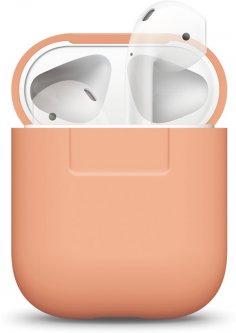 Чехол Elago Silicone Case для AirPods Peach (EAPSC-PE)