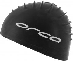 Шапочка для плавания Orca Silicone Swimcap Black (DVA00001)