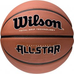 Мяч баскетбольный Wilson New Performance All Star Size 7 Brown (WTB4041XB07)