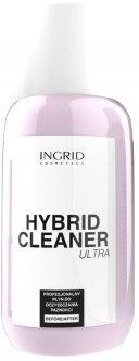 Профессиональное средство Ingrid Cosmetics для очистки ногтей от гель-лака Hybrid Cleaner 150 мл (5902026632287)