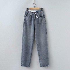 Джинси жіночі oversize з фактурного деніму Texture Berni Fashion (S) Синій (55827)