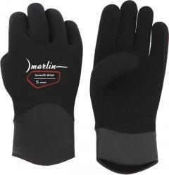 Перчатки Marlin Smooth Wrist Duratex 5 мм XL Black (10509)