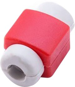 Органайзер для кабеля Apple iPhone ExtraDigital Cable Clips Savior Red (KBC1738)