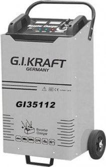 Пуско-зарядное устройство G.I.KRAFT 12/24В, пусковой ток 1000A, 220В (GI35112)