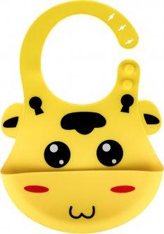 Слюнявчик силиконовый Zupo Crafts Желтый (LP8846) (6900088460014)
