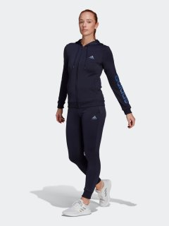 Спортивный костюм Adidas W Lin Ft Ts GM5580 L Legink/Creblu (4064045326798)