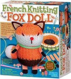 Набор для вязания игрушки 4M Лисичка (00-04682)