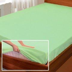 Простынь на резинке Zastelli Джерси-Ролл 180х200+25 Зеленая (2500000077463)