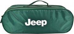 Сумка-органайзер в багажник Джип зеленый размер 50 х 18 х 18 см (03-050-2Д)
