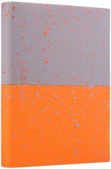 Ежедневник недатированный Yes Giovanni A5 432 страницы Серый с оранжевым (252060)