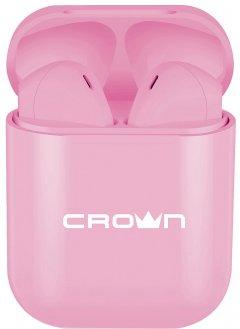 Наушники Crown CMTWS-5005 Pink