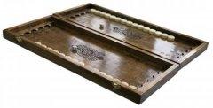 Нарды деревянные ручной работы Newt Backgammon 1 размер доски 52х44х7 см (NR- 5244) (2000000015637)