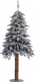 """Искусственная елка YES! Fun """"Лигурия"""" литая на деревянном стволе, заснеженная 1.80 м (904273) (4820079042734)"""