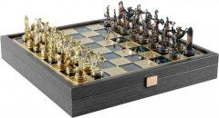 Шахматы Manopoulos Греческая мифология в деревянном футляре 34 х 34 см 3 кг (SK4AGRE)