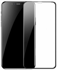 Защитное стекло Baseus Protector for Apple iPhone XS Max Black (SGAPIPH65-PE01)