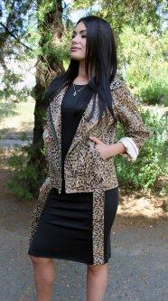 Куртка Rush 250901 42 Леопардовый