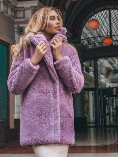 Шуба Gepur 33481 L Фиолетовая (5000013123722)
