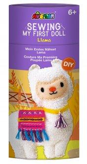 Набор для творчества Avenir шитье игрушки Лама (CH1623)