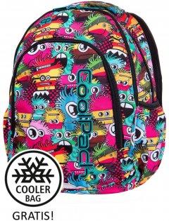 Рюкзак с термосумкой CoolPack Prime Wiggly Eyes Pink для девочек 41 x 31.5 x 15 см 23 л (B25047)