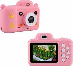 Цифровой детский фотоаппарат Atrix Tiktoker 5 Dual Cam 24 Mp 1080p Pink (cdfatxtt5p)