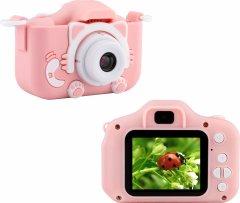 Цифровой детский фотоаппарат ATOMIX Flix 4 Two Cameras 20 Mp 1080p Pink (dfpaoflx4p)