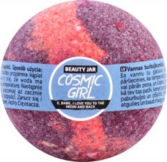 Бомбочка для ванны Beauty Jar Cosmic girl с маслом сладкого миндаля и черешни 150 г (4751030830315)