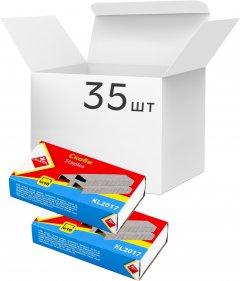 Упаковка скоб KLERK №10 35 пачек по 1000 шт (Я44663_KL2017_35)