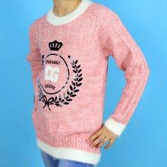 Кофта для дівчинки DG (437роз) Розмір 8-9, 132 см Рожевий