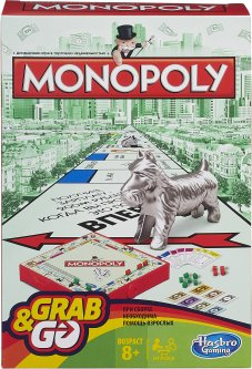 Настольная игра Hasbro Монополия дорожная (B1002619)