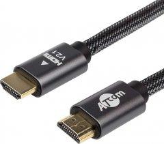 Кабель Atcom HDMI-HDMI Premium VER 2.1 60 HZ 10 м Черный (23710)