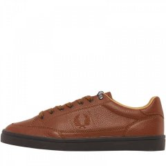 Кеди Fred Perry Deuce Premium Leather Tan Red Brown, 41 (11190579)