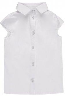 Блузка Zironka Textile Classic 26-9018-1 140 см Белая (ROZ6205083904)