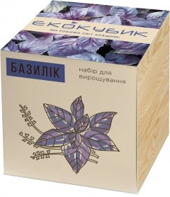 Набор для выращивания Экокубик Базилик (2000992392778)