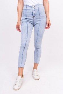 Стильні стрейчеві джинси Lurex джинс (XL)