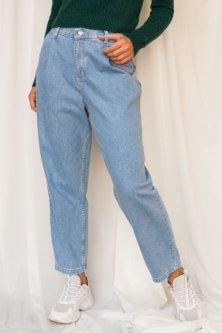 Трендові джинси банани Lurex блакитний (M)