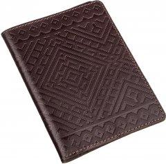 Обложка на паспорт Shvigel 13974 Коричневая