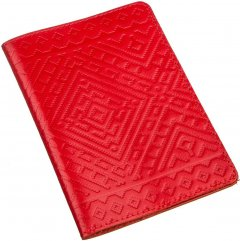 Обложка на паспорт Shvigel 13972 Красная