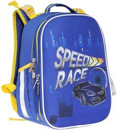 Ранец Class SchoolCase Speed Race 35 х 27 х 16 см 14 л Синий (9957C) (8591662995701)