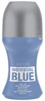 Дезодорант-антиперспирант Avon Individual Blue с шариковым аппликатором 50 мл (1306419)(ROZ6400101556)