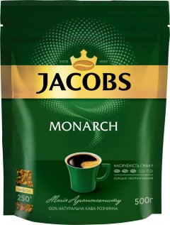 Кофе растворимый Jacobs Monarch 500 г (8714599108932)