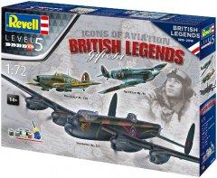 Сборная модель Revell Авиа Легенды Британии. Масштаб 1:72 (RVL-05696) (4009803056968)