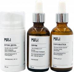 Комплекс Meli День для нормальной и с признаками гиперпигментации кожи 3 х 50 мл (ROZ6400100735)