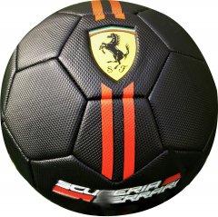 Мяч футбольный Ferrari №5 Черный (F611B)